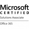 certificate mcsa office 365