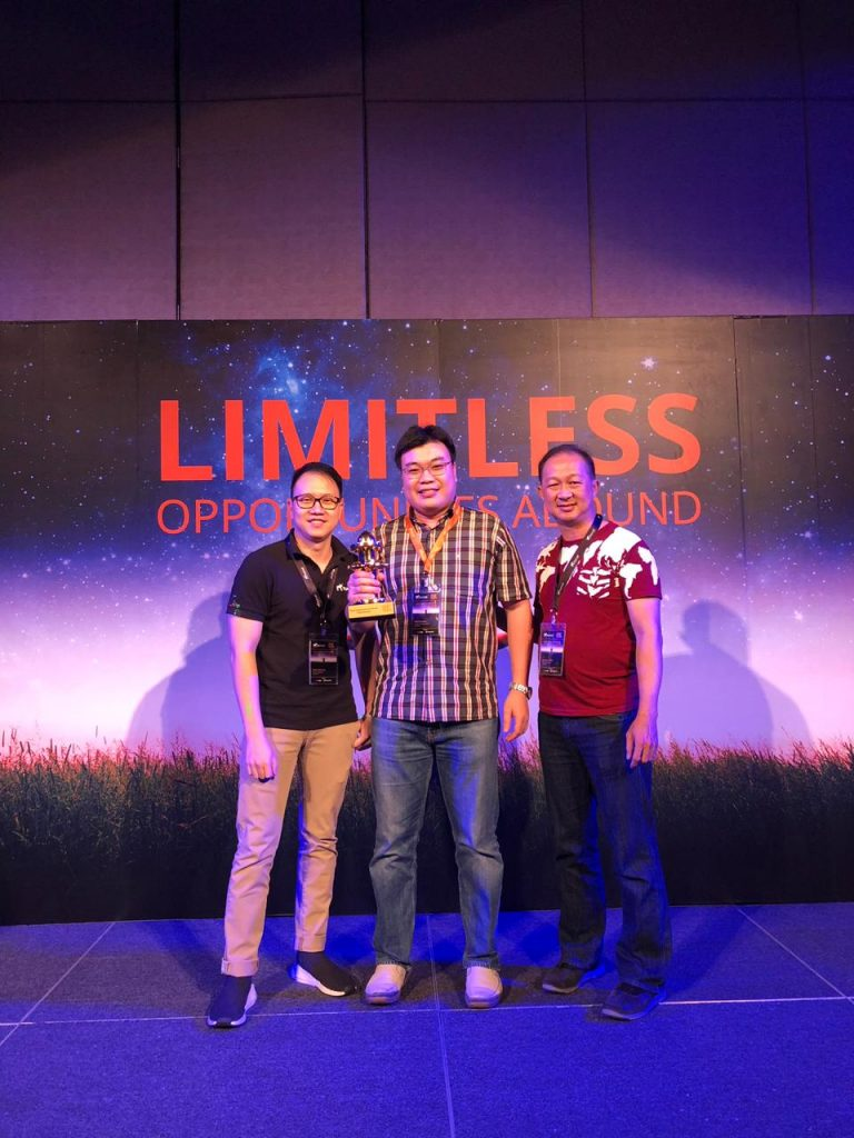 Ruckus unleashed partner of the year 2018 b