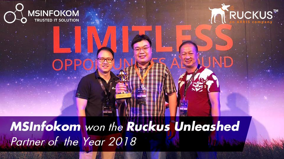 Ruckus unleashed partner of the year 2018